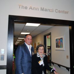 Ann Manzi and her son Joe Manzi