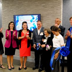 Ribbon cuttinng
