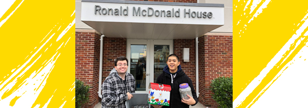 Volunteer at ronald mcdonald house