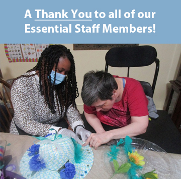 Thank You Essential Staff Members!