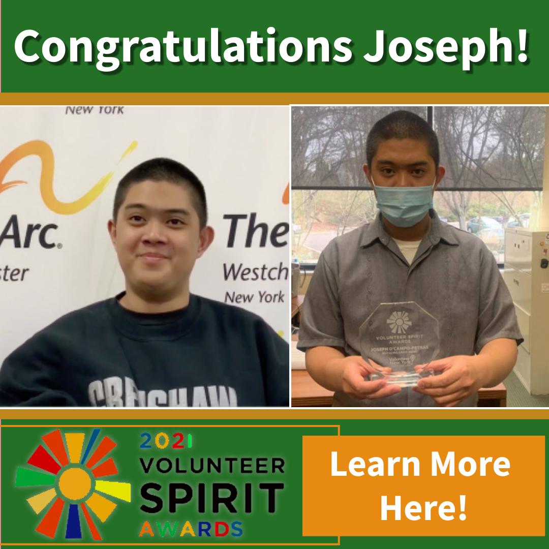 Congratulations Joseph!